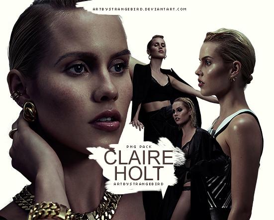 Claire Holt PNG Pack #1 by artbystrangebird on DeviantArt.