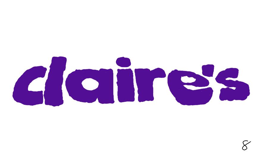 Claires Logos.