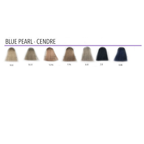 Clairol Professional Blue Pearl/Cendre colours.