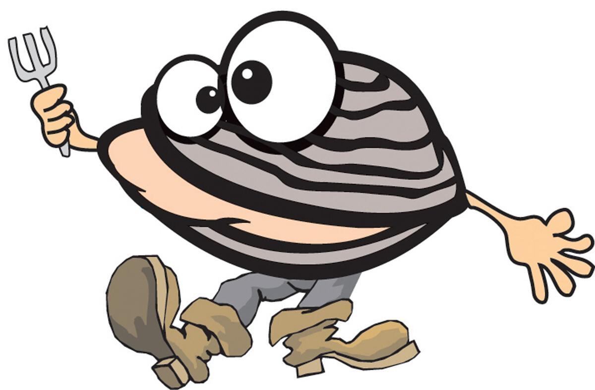 Illustration of clambake clipart.