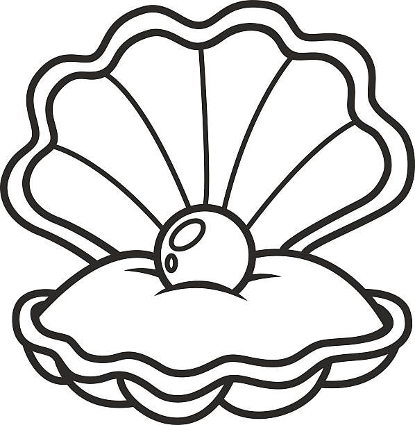 500 Clam free clipart.