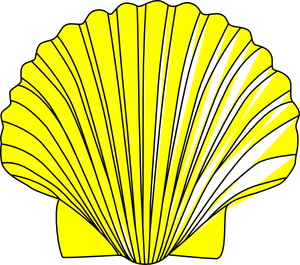 Clam clipart shell fish, Clam shell fish Transparent FREE.
