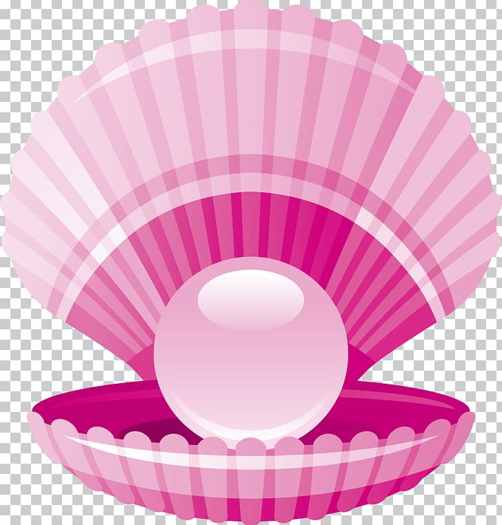 Clam Pearl Seashell PNG, Clipart, Baking Cup, Blue, Cartoon.