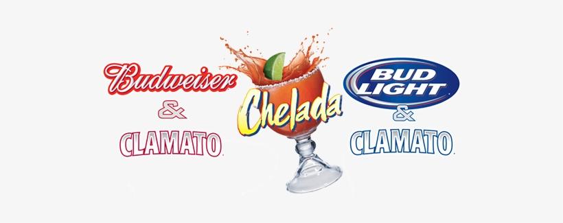 Budweiser & Clamato Chelada And Bud Light & Clamato.