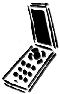 90s Flip Phone Clip Art Long Tail Keywords.