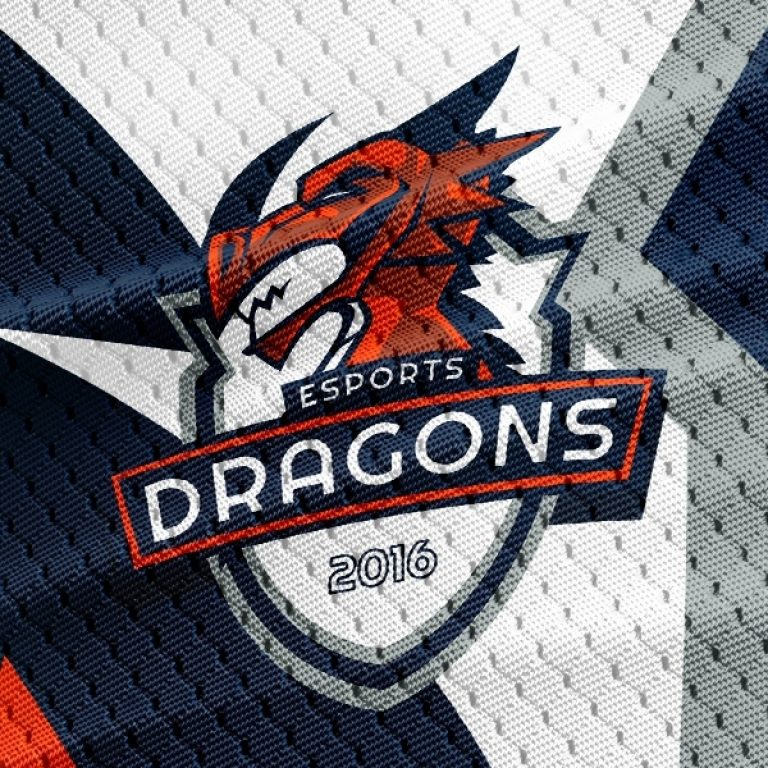 Dragon Clan Logo Template.