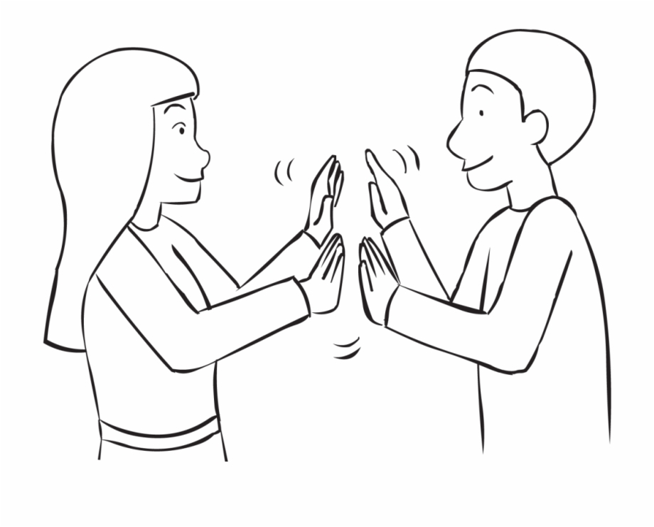 Free Clapping Hands Clipart Black And White, Download Free.