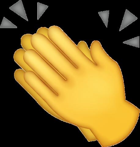 Clapping Emoji [Download iPhone Emojis].