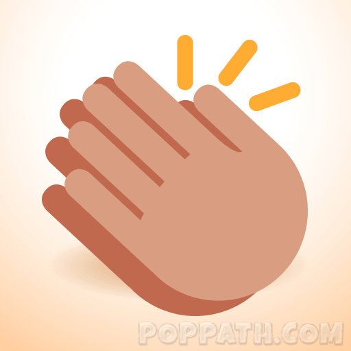 How To Draw A Clapping Emoji.