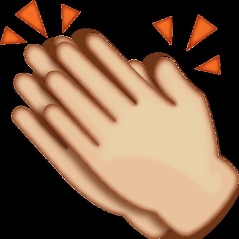 Clapping Hands Emoji.