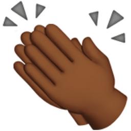Clapping Hands: Medium.