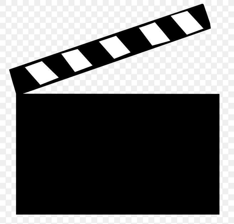 Clapperboard Film Clip Art, PNG, 800x784px, Clapperboard.