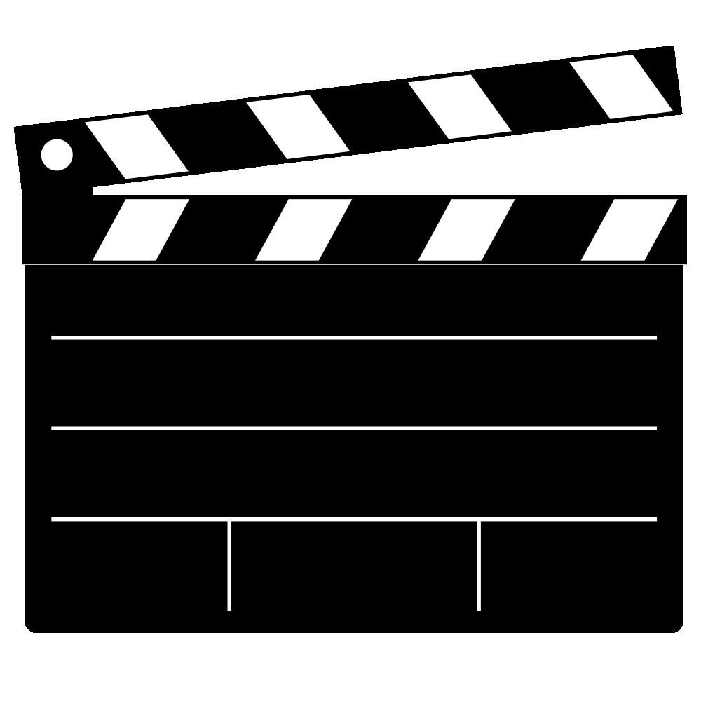 Movie Clapper Clipart.