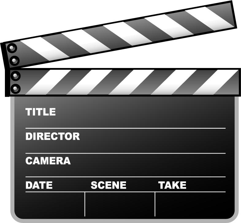 Clapperboard PNG Transparent Images.