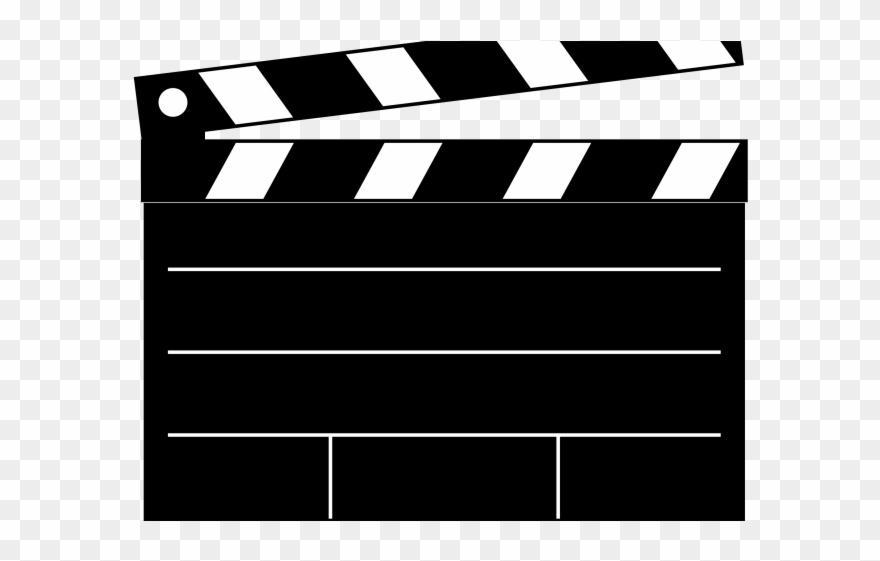 Clapperboard Clipart.