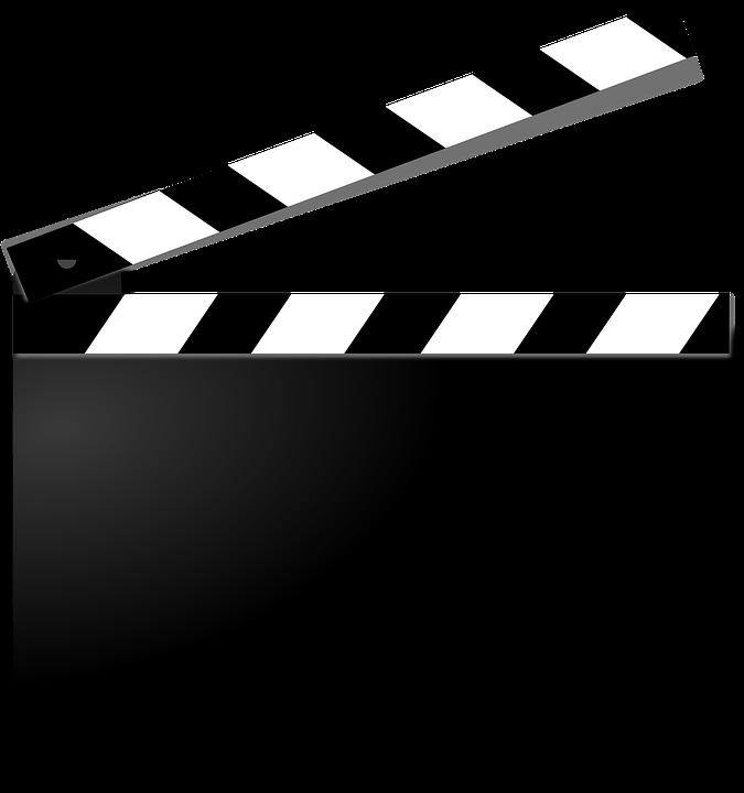 Clapperboard Film Movie.