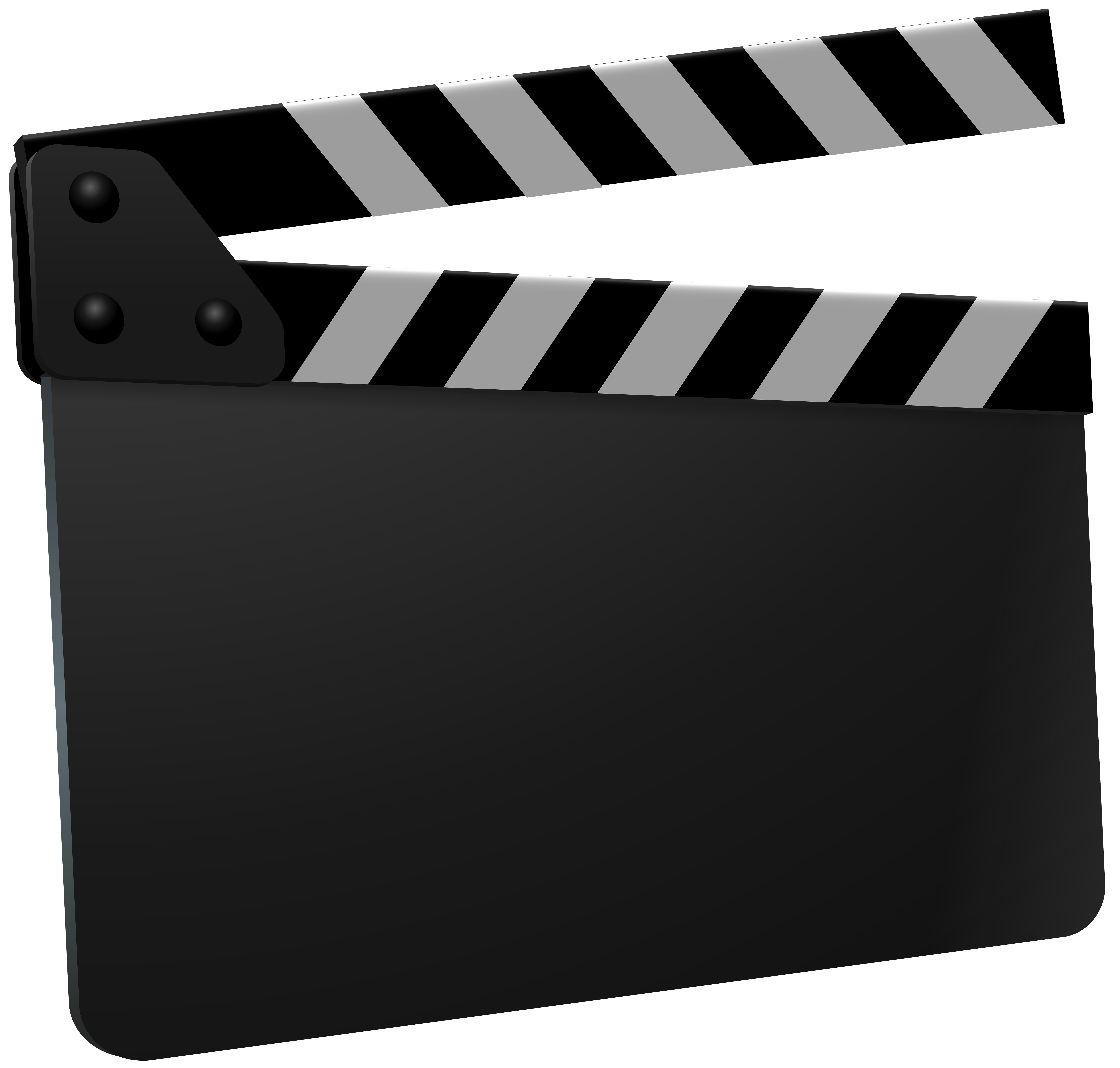 Clapboard PNG Clipart.