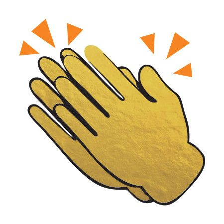 Clapping Hands Clipart.