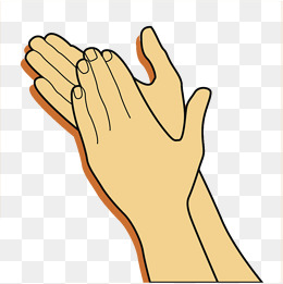 Clipart Clapping Hands & Free Clip Art Images #13163.