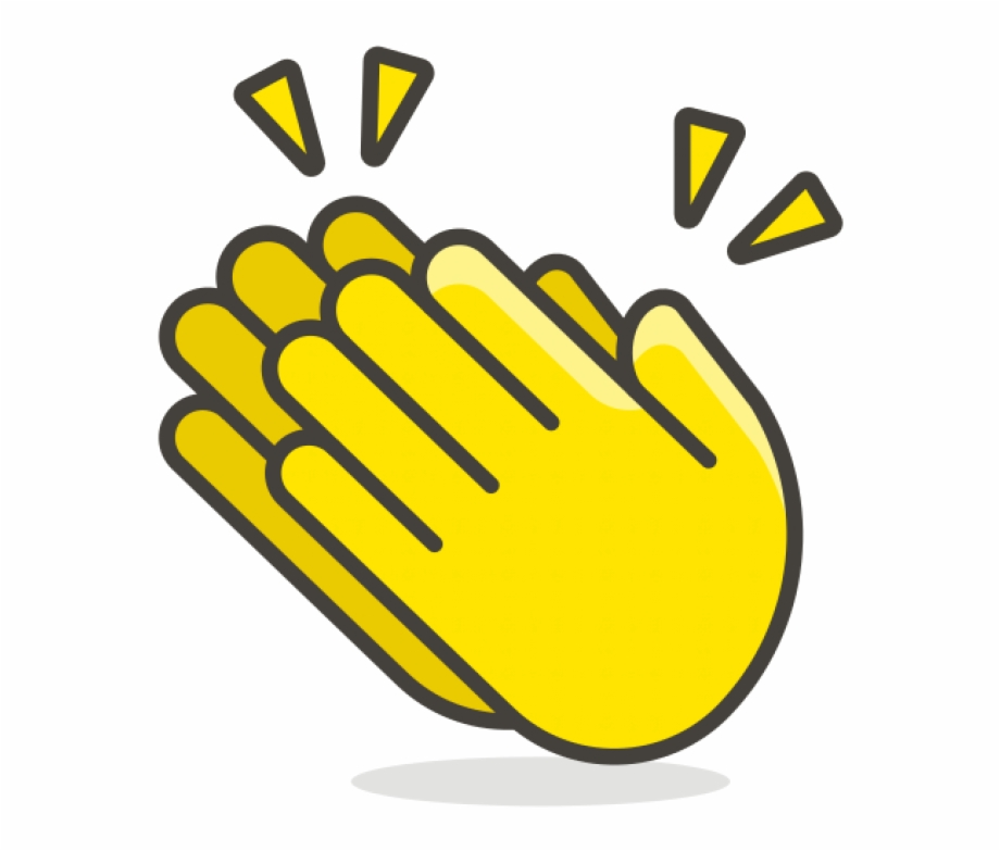 Clapping Hands Clip Art Free PNG Images & Clipart Download #1017674.