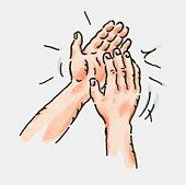 Clapping Hands Clip Art & Clapping Hands Clip Art Clip Art Images.