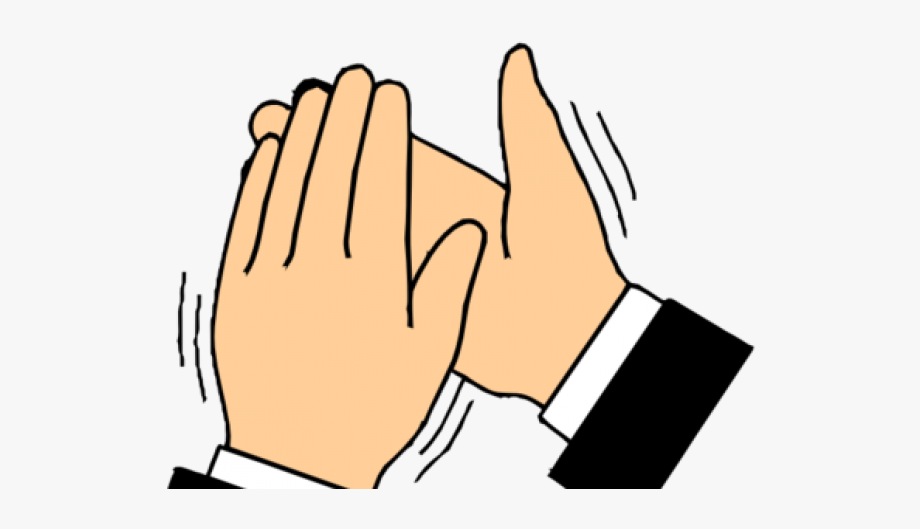 Clapping Hands Transparent Gif #524616.