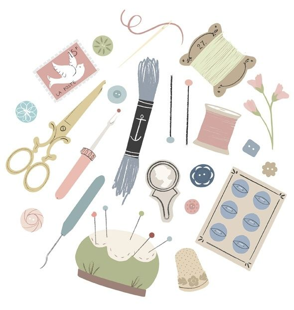 1000+ images about Sewing clip art on Pinterest.