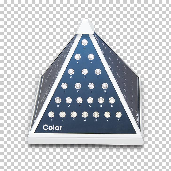 Diamante claridad triángulo pirámide corte diamante.