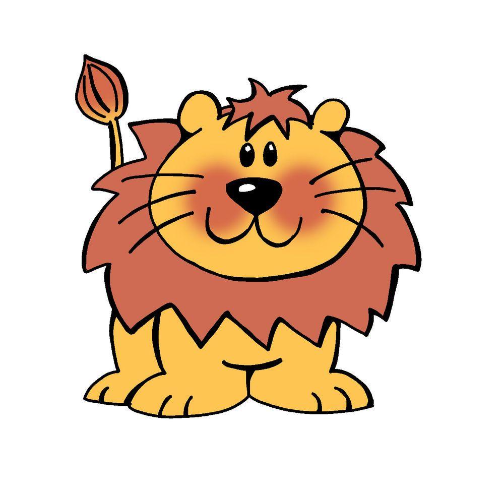 Lion Cartoon Stock Vector Clipart Vector Illustration Of.