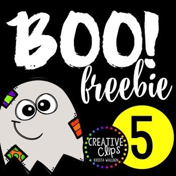 Boo Freebie #5 {Creative Clips Digital Clipart}.