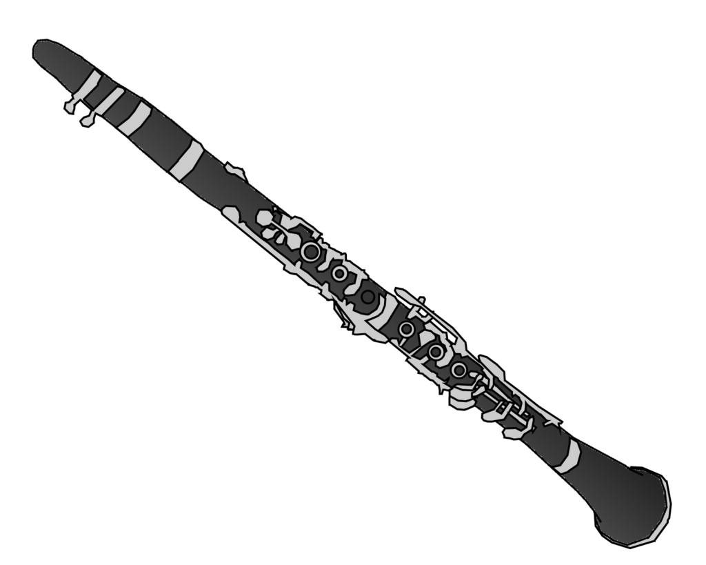 Clarinet Clipart.