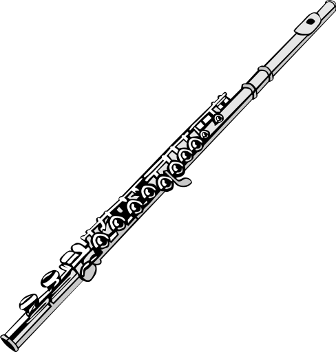 Free Clarinet Black And White, Download Free Clip Art, Free Clip Art.