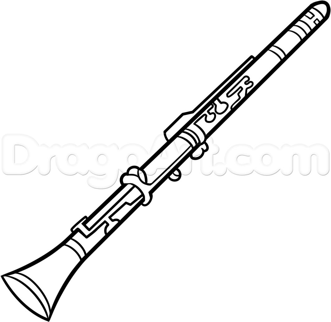 Oboe Clipart.