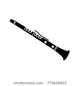Clarinet clipart black and white 5 » Clipart Station.