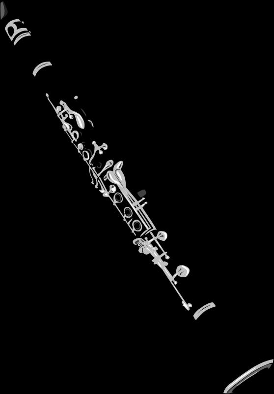 Free Clipart: Clarinet.