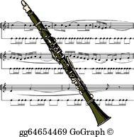 Clarinet Clip Art.