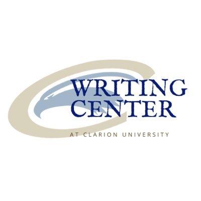 Clarion University Writing Center (@CUPWriting).