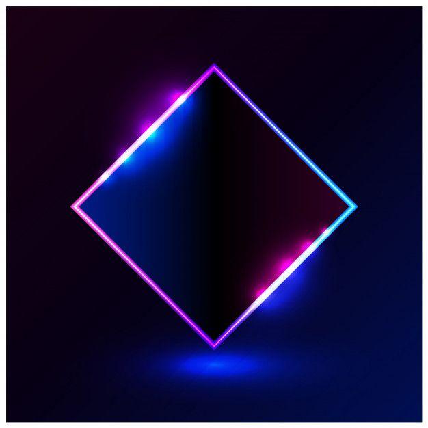 Forma el marco de ilustración vectorial rosa azul claro para.