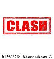 Clash Clipart Illustrations. 639 clash clip art vector EPS.
