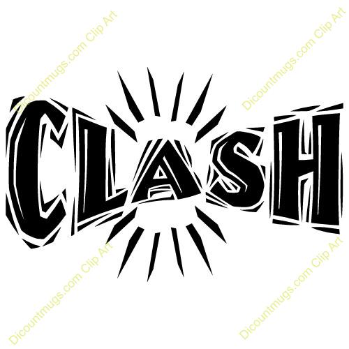 Clash clipart.