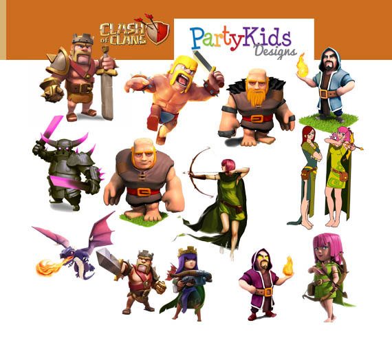 Clipart clash of clans.