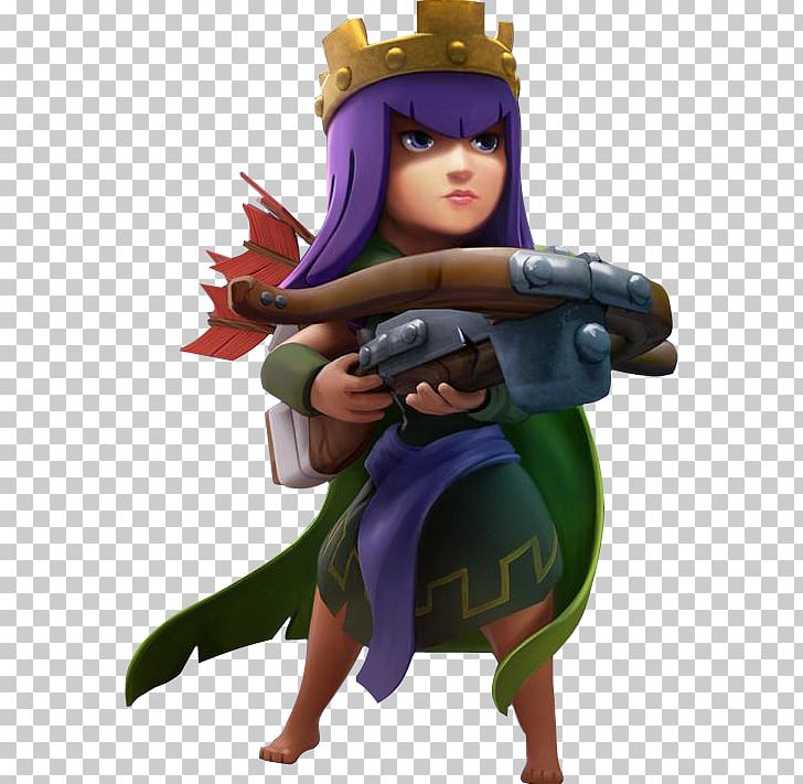 Clash Of Clans Clash Royale Boom Beach ARCHER QUEEN PNG.