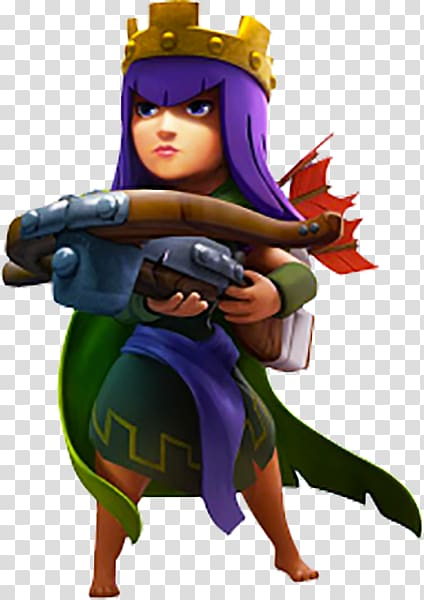 Archer Queen of Clash of Clans illustration, Clash of Clans.