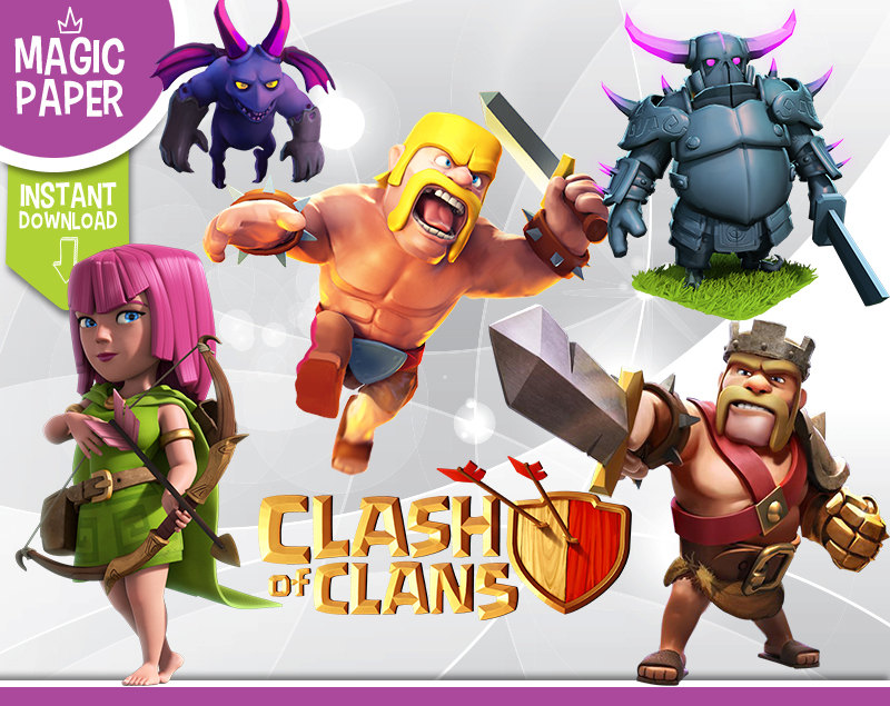 Clash Of Clans Clipart.