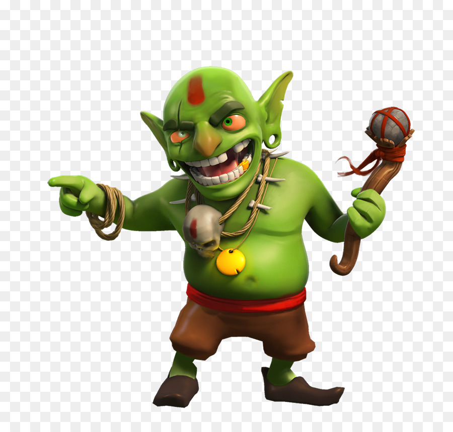 Clash Of Clans Action Figure png download.