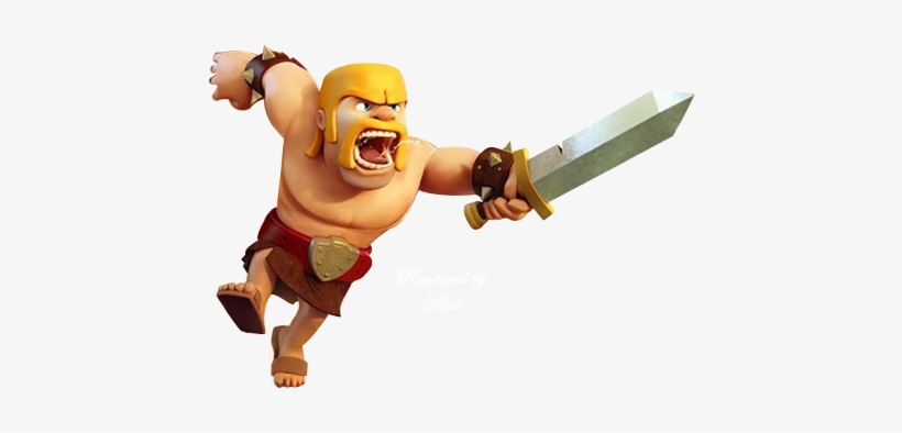 Barbarian Clash Of Clans Png.