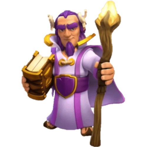 Clash Of Clans Grand Warden transparent PNG.