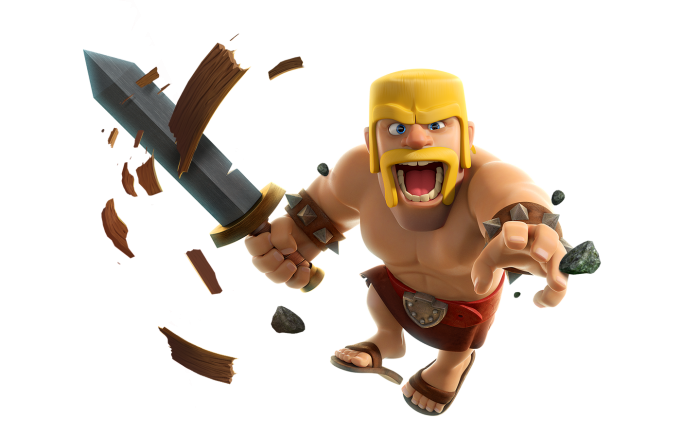 Barbare Clash Of Clans Png Vector, Clipart, PSD.