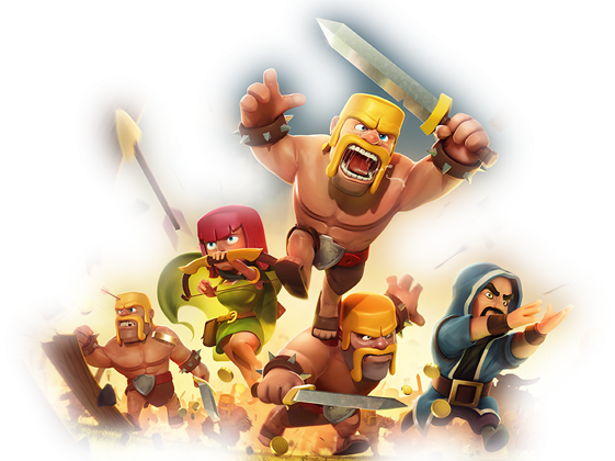 Download Clash of Clans PNG Image.