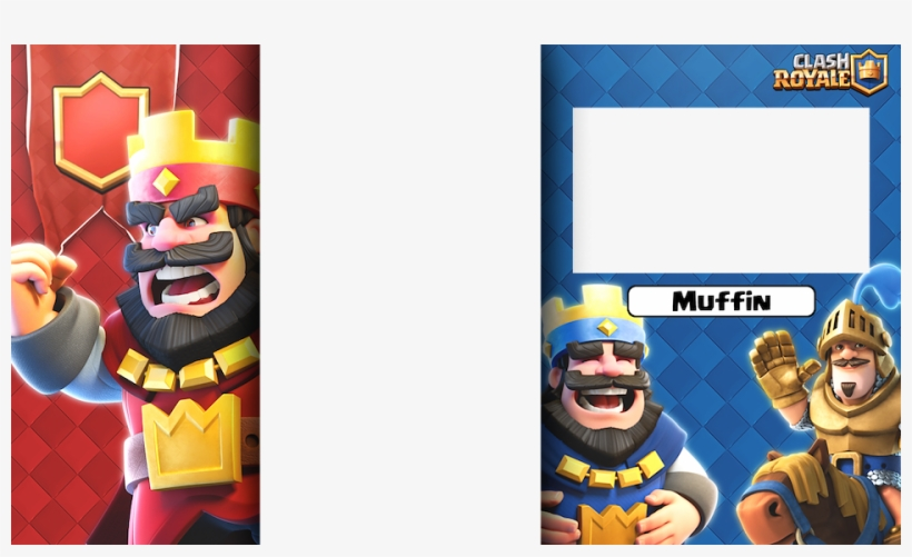 Clash Royale Stream Overlay Transparent PNG.